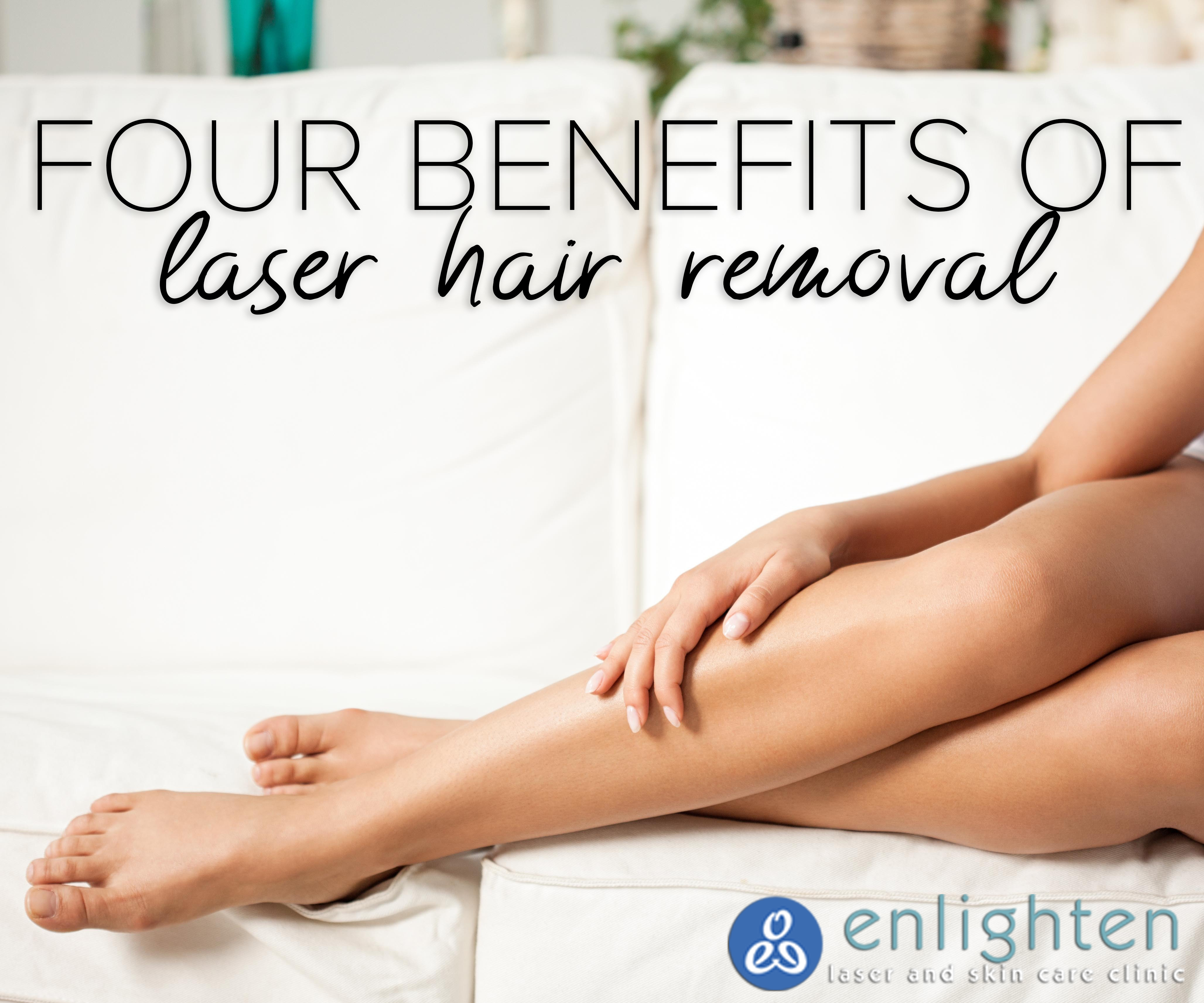 Four Benefits of Laser Hair Removal